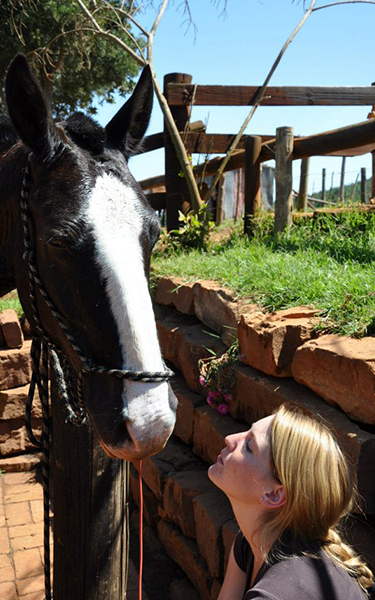 Kaapsehoop Horse Trails Volunteers Project